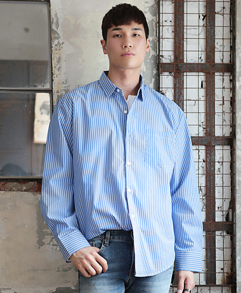 NF Ballen striped shirt